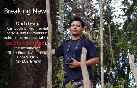 Cambodian NGOs call for immediate release of detained forest activists