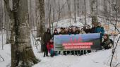 Local people speak out against the project of a mega ski resort in the Ukrainian Carpathians