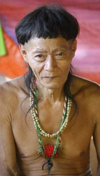 The Penan maintain a very strong spiritual relationship with the forest.